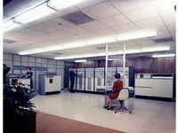 Sperry Rand UNIVAC 1107 computer (ca. 1962)