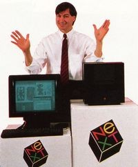 Steve Jobs introduces the NeXT workstation (October 1988)