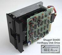 Shugart SA400 Minifloppy 5.25 inch disk drive