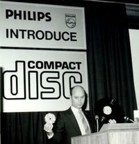 Joop Sinjou of Philips introduces the music