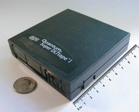 Quantum Super DTLT 1 tape cartridge