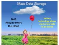 Helium technology allows much more data to be stored