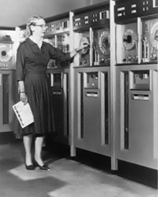 Grace Hopper at Remington-Rand Univac
