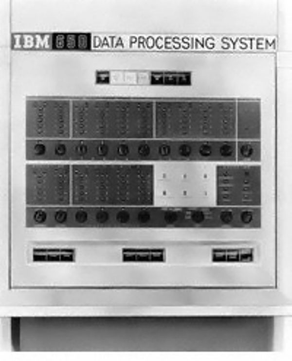 IBM 650 Console