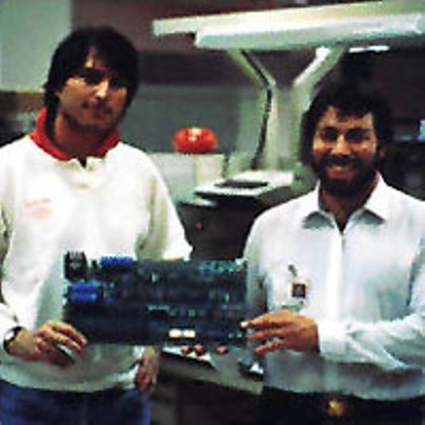 Steven Jobs and Stephen Wozniak