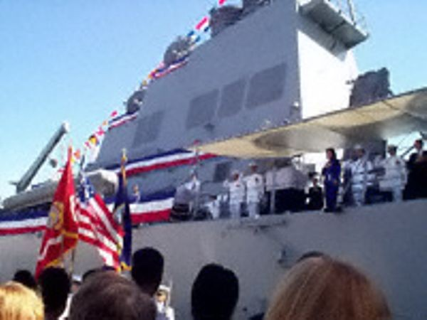 The US Navy Commissions the USS Hopper
