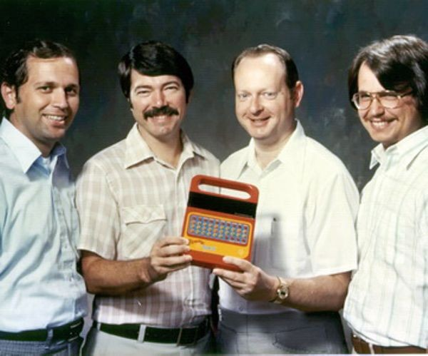 "TI Announces ""Speak & Spell"""