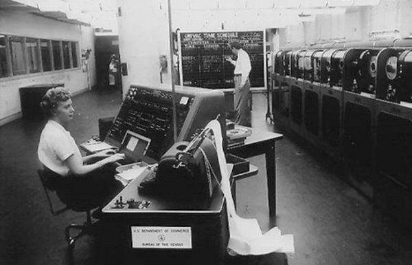 US Census Dedicates UNIVAC I Computer