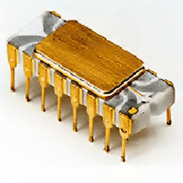Intel 4004 had 2,250 transistors, handling data in four-bit chunks, and could perform 60,000 operations per second