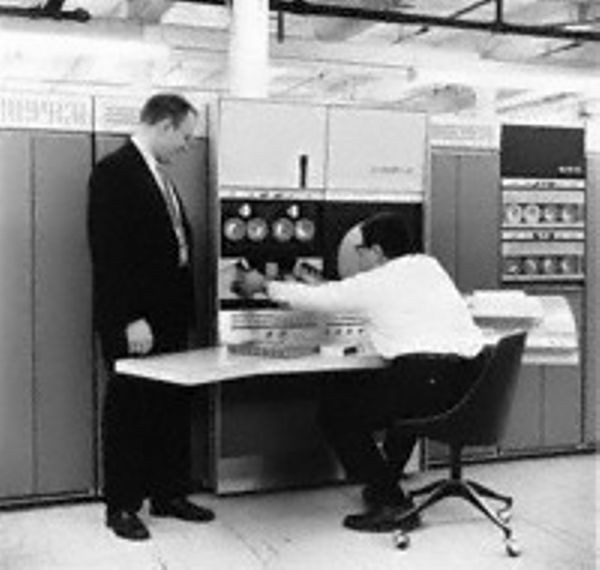 Bell and Kotok with DEC PDP-6