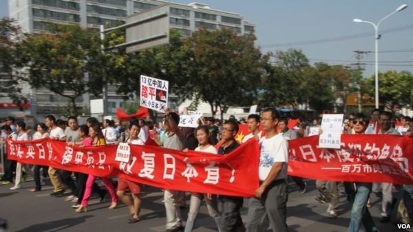 Anti-Japanese protests in Beijing, China (September 18, 2012)