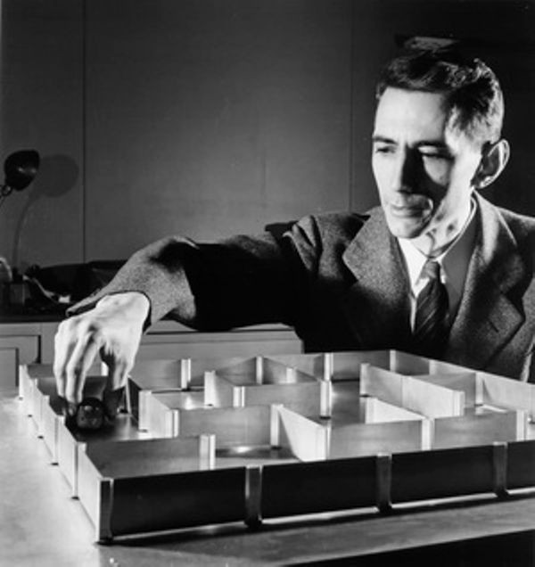 Information Theory Pioneer Claude Shannon  Born
