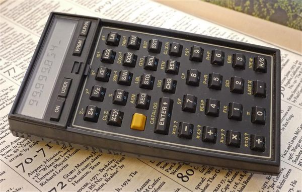 HP-41 Calculator Used in Space