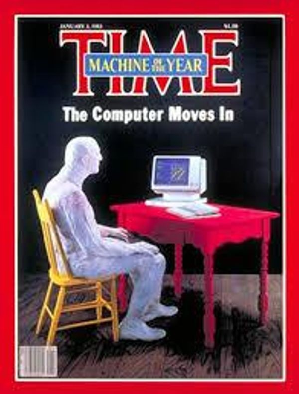 "Time Names Computer ""Man of the Year"""
