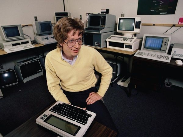 Bill Gates Starts Programming