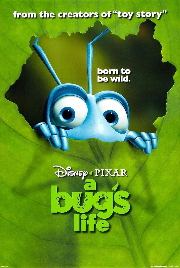 Pixar's A Bug's Life and Geri's Game Is Released