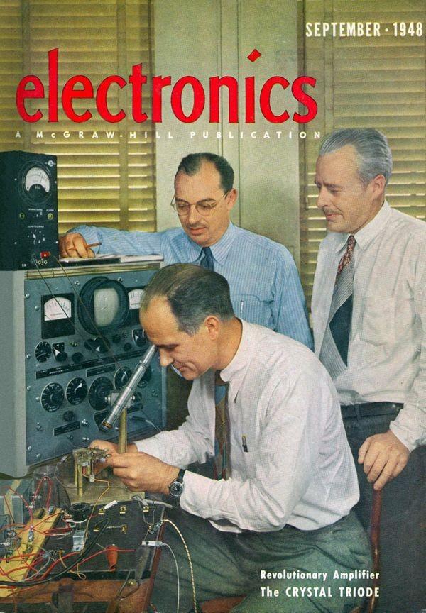 Transistor Inventors Receive Patent