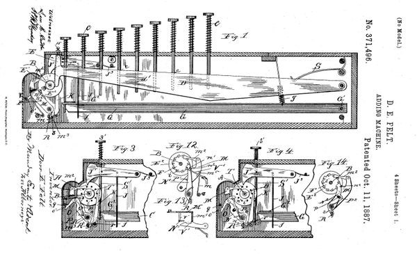 Comptometer Inventor Receives Patent