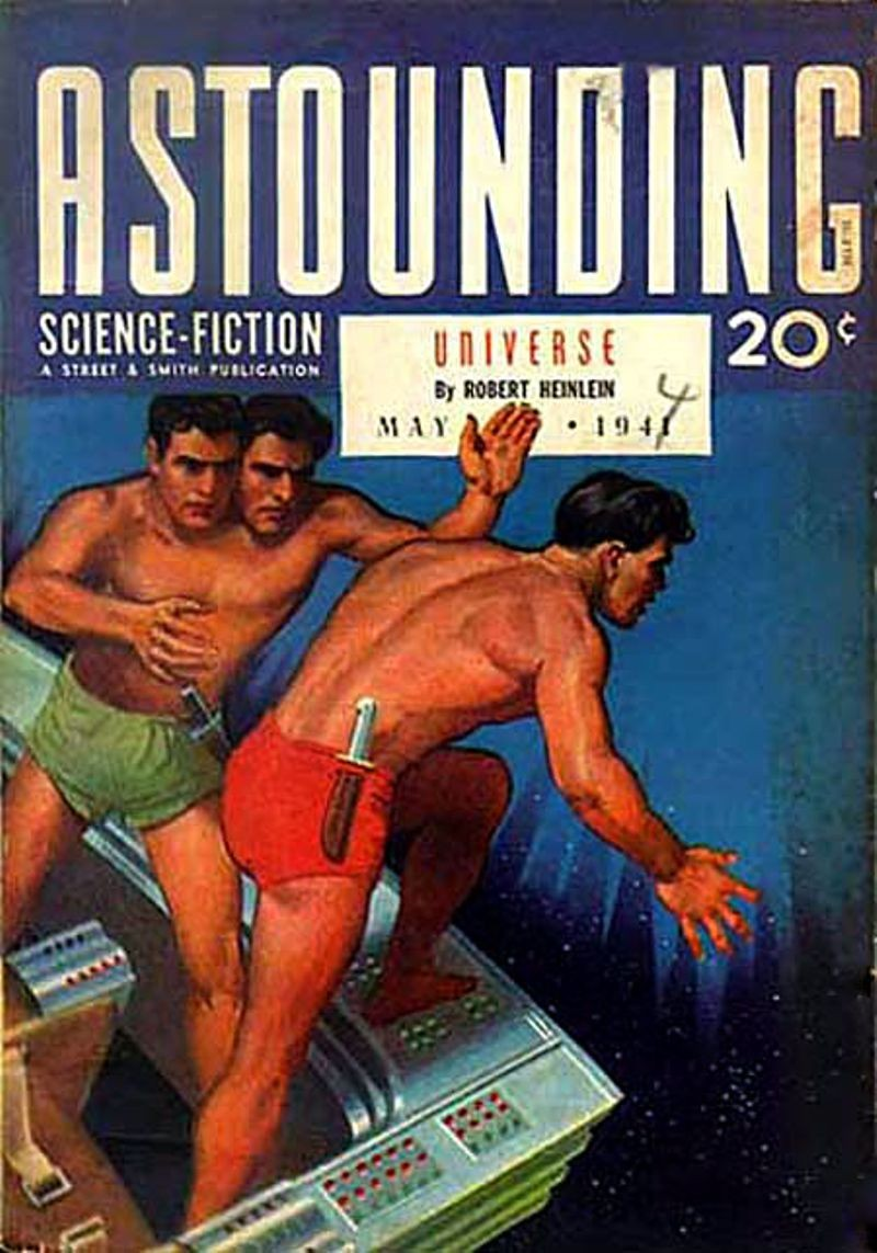 Número de mayo de 1941 de **Astounding Science Fiction**
