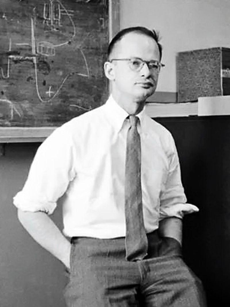Walter Pitts, en una imagen de archivo