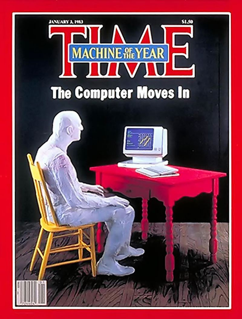 Objects Association For L Formed Computer Desk TIME announces u201cMachine of the Yearu201d