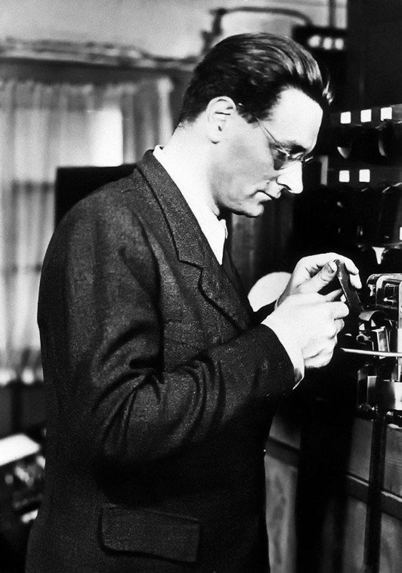 Konrad Zuse, en una imagen de archivo