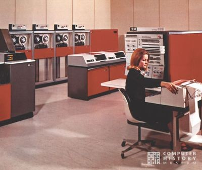 System/360 computer system, 1965